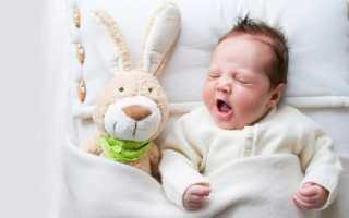 Как укладывать новорожденного спать?